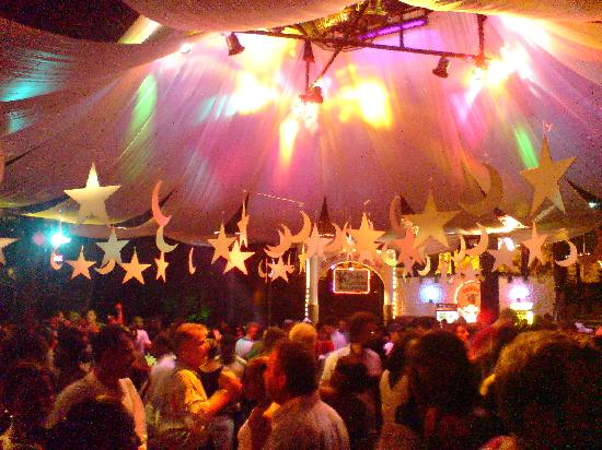Oriental Theme Night Decoration at Tembo Disco