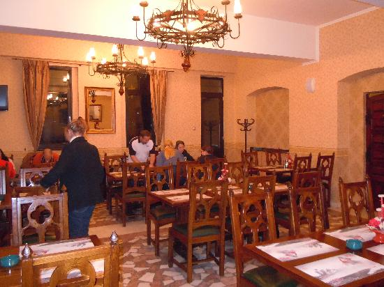 Hotel Castel Dracula: Restaurant