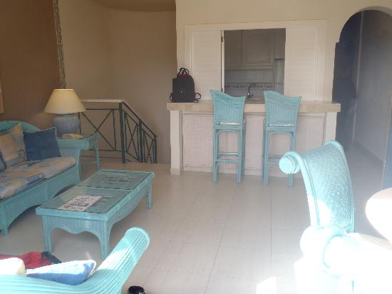 Green Garden Resort & Suites : le salon