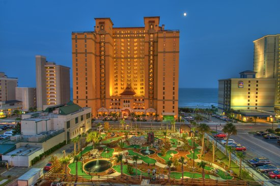 Hotels On The Beach In Myrtle Beach
