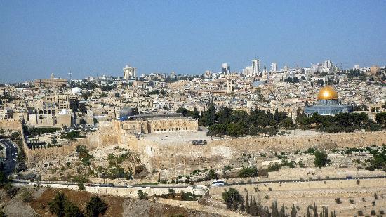 Ramada Jerusalem: Blick vom Ölberg