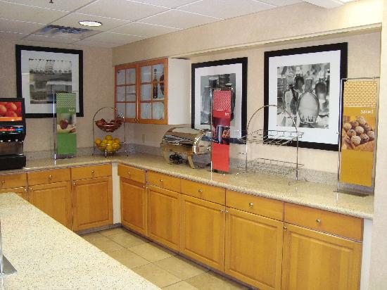 Red Lion Inn & Suites Tempe: Breakfast area