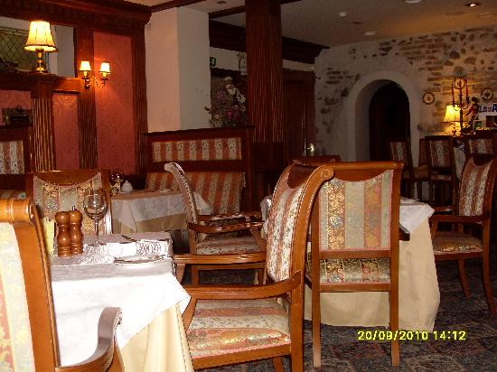 Dvaras Hotel: The dining room