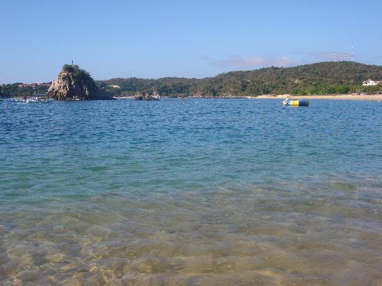 Dreams Huatulco Resort & Spa: La playa del Hotel