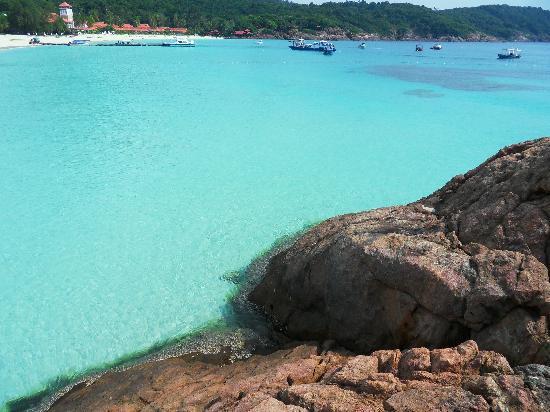 Pulau Redang, Malásia: Türkisfarbenes Meer