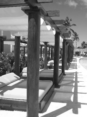 TRS Turquesa Hotel: Cabanas by our Suite
