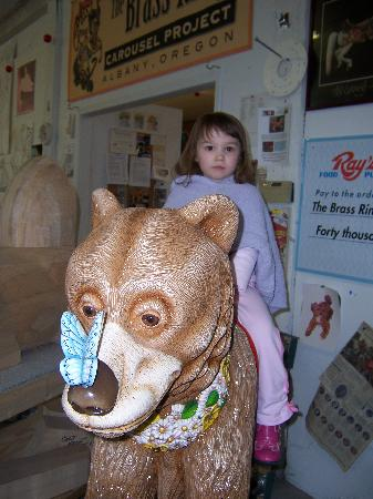 The Historic Carousel and Museum: Honey bear 1