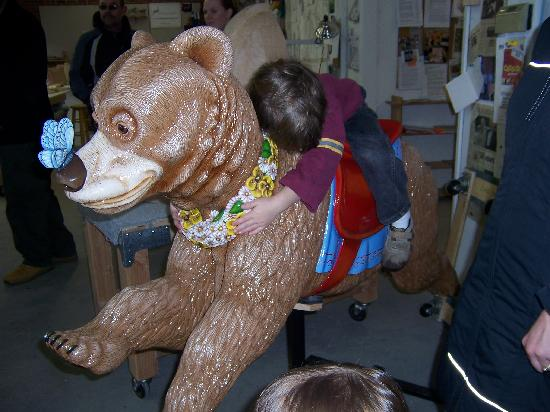 The Historic Carousel and Museum: honey bear 2