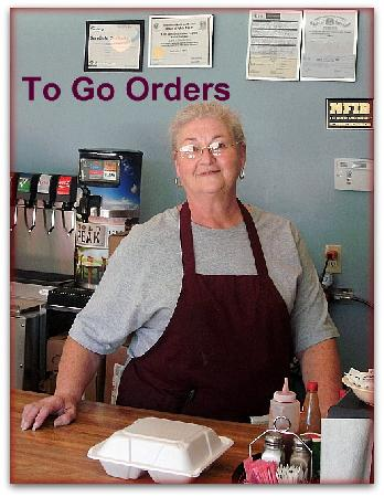 Colfax, Louisiane: To Go Orders