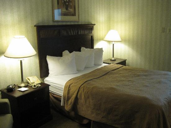 Quality Inn near Historic Downtown: The Bed
