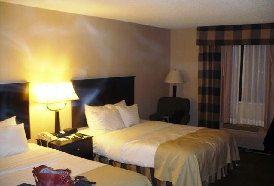 Holiday Inn Fargo : Basic room with 2 Queen beds