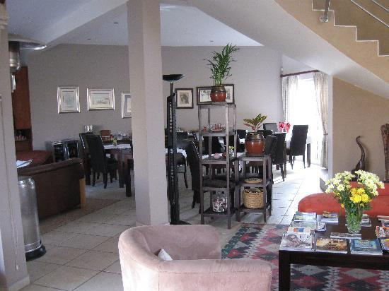 Royal Benguela Guesthouse: The breakfast room