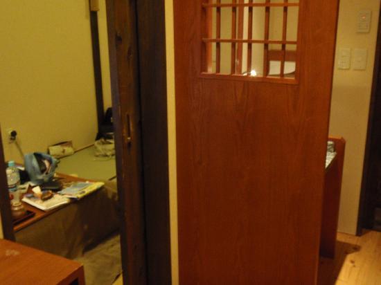 Hatago Ichinoyu: View from room entrance