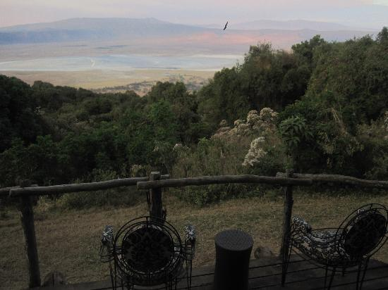 andBeyond Ngorongoro Crater Lodge: Patio