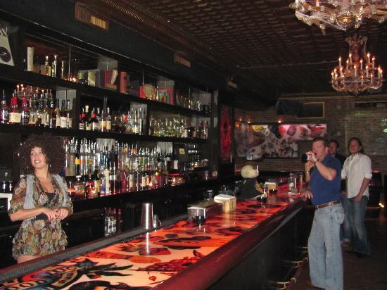 Mac's Club Deuce: the bar