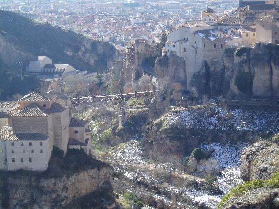 Parador de Cuenca: Parador desde mirador
