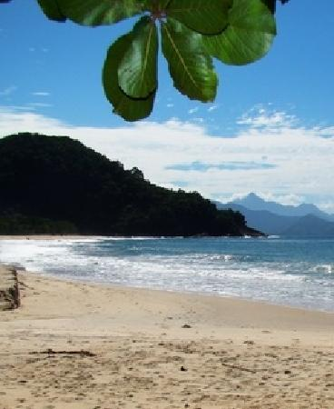 Pousada Tribo Ubatuba Hostel: White sand beaches
