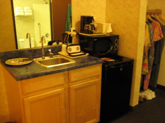 Comfort Inn & Suites Near Temecula Wine Country: Sink, microwave, mini fridge