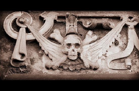 City of the Dead Tours: Greyfriars Kirkyard tombstone