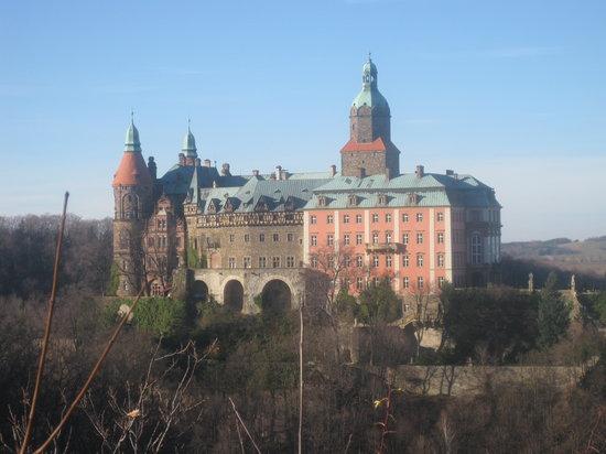 Ksiaz Castle: veduta