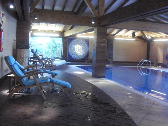 Sheraton Oran Hotel : Piscina interior