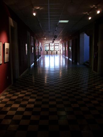 Austrian Hospice: The hallway on the 3rd floor