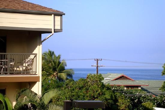 WorldMark Kona: View from our condo #310