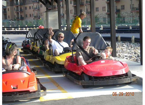 Wilderness Inn: Fun on the Go Karts!
