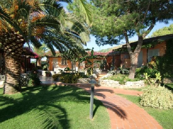 Villaggio Club Baia del Sole: Gartenanlage
