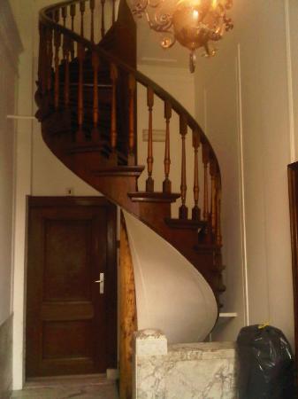 Hotel Keizershof: hotel stairway