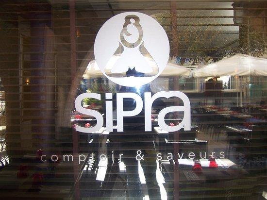 Sipra Comptoir et Saveur: ENSEIGNE