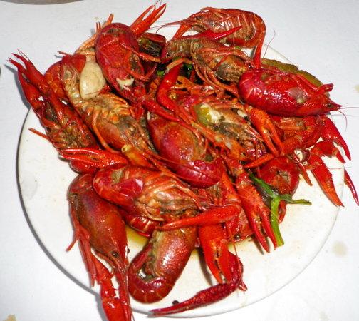 Montrel's Bistro : The crawfish were delicious!