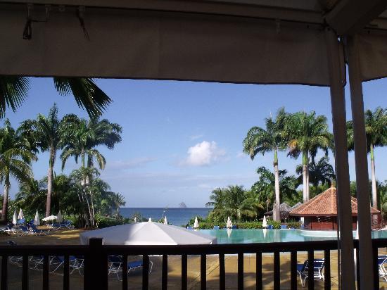 Sainte-Luce, Martinica: prendre le petit déjeuner avec cette vue ....