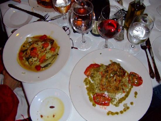 Ruvo Restaurant East: salmon
