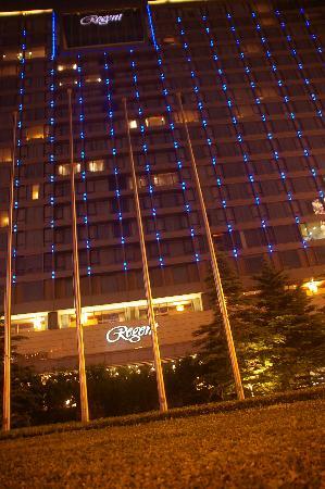 Regent Beijing: Regent at night