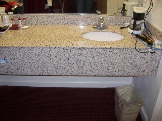 Red Roof Inn & Suites Jackson: Vanity