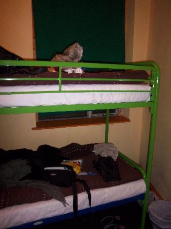 Paddy's Palace: the bed is not too bad but the matress is really hard