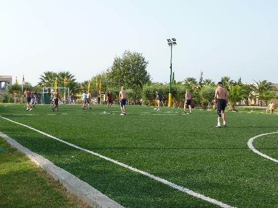 Holiday Village Kos by Atlantica: Fußballfeld