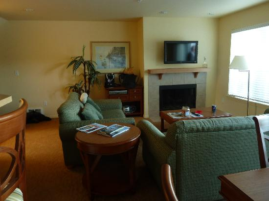 WorldMark Discovery Bay: living room