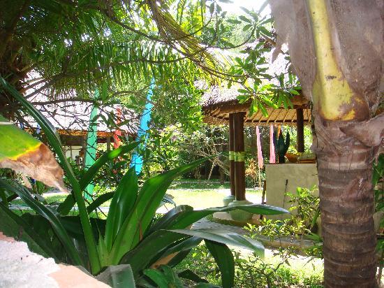 Cili Emas Oceanside Resort: Hotel Garden