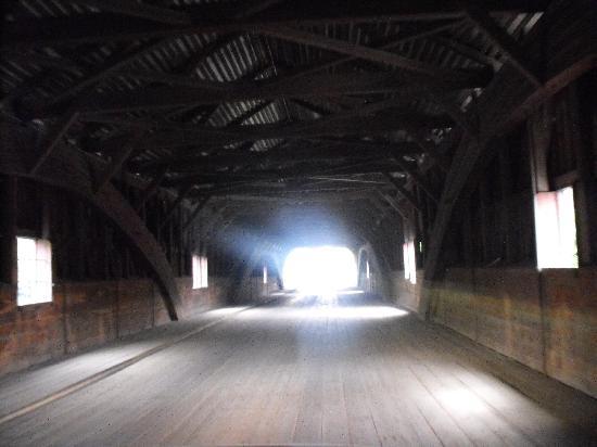Bath Covered Bridge - Burr Truss Styling