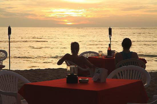 The Beach Khaolak: See sunset@the beach is so beautiful