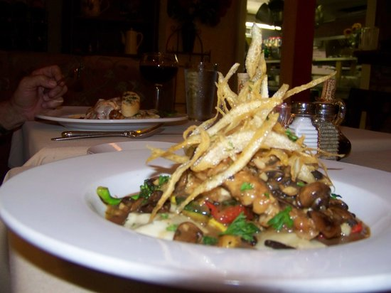 Ciao Bella's Chicken Marsala - Great presentation!