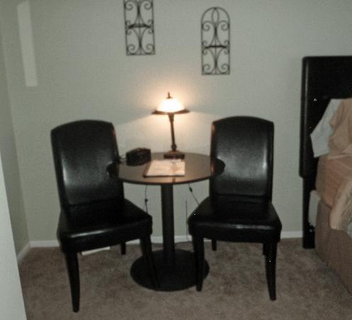 نانتوكيت إن: Sitting area