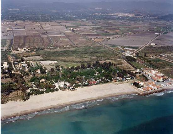 Camping Malvarrosa de Corinto: Playa Malvarrosa de Corinto
