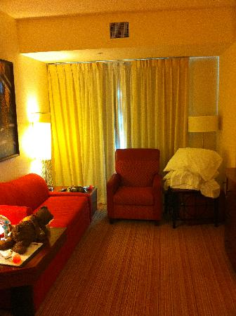 Residence Inn Phoenix Desert View at Mayo Clinic: living room in two bedroom suite