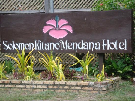 Solomon Kitano Mendana Hotel: sounds nice!
