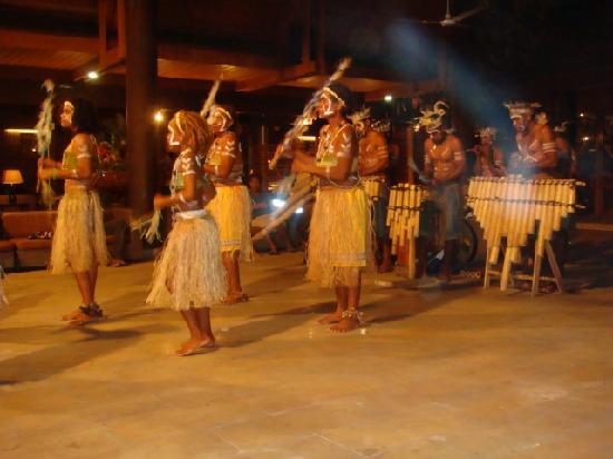 Solomon Kitano Mendana Hotel: cultural mix