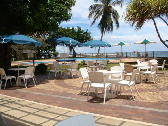 Honiara, Solomon Islands: pool area