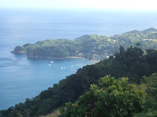 Overlooking Castara